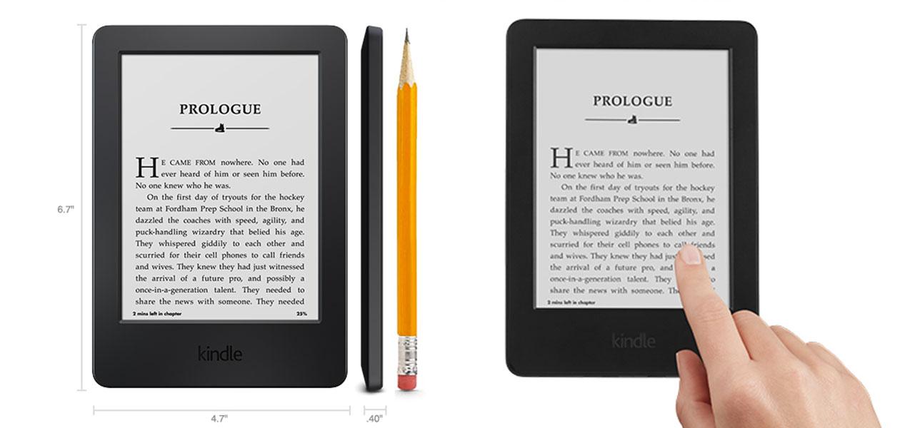 Νέο βασικό Kindle, τώρα με αφή. Διαθέσιμο για Ελλάδα και Κύπρο.